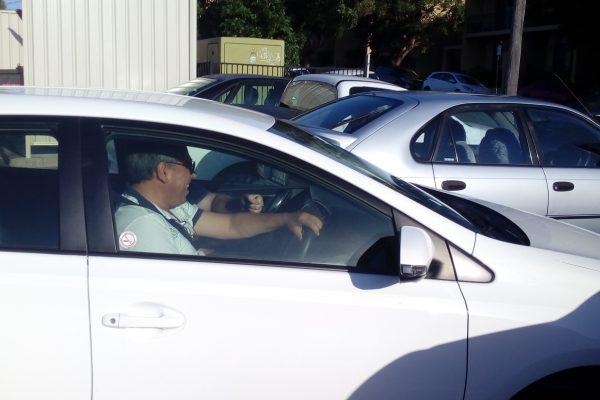 mentor driving car